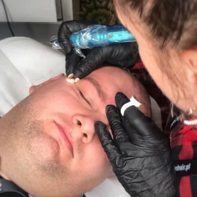 mikropigmentacja męskich brwi