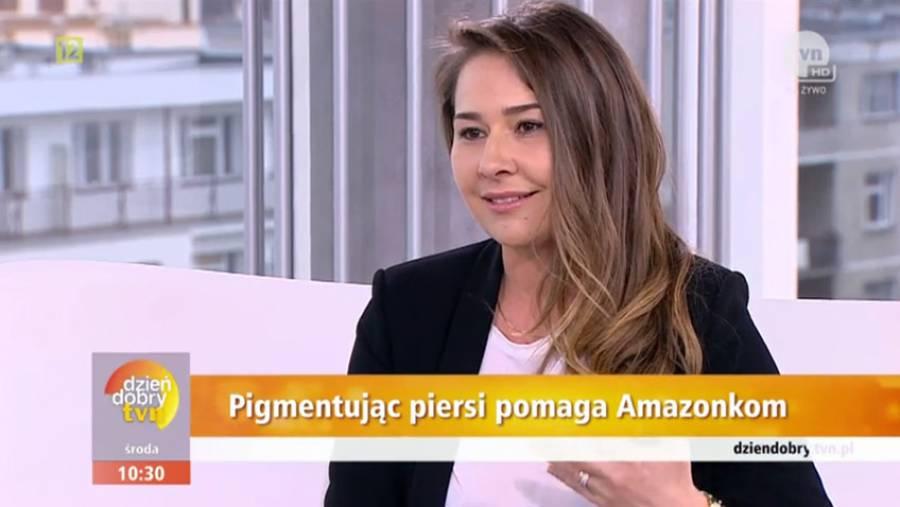 Interview tvn Agnieszka Zapała